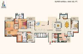 Casa Bella Floor Plan Floor Plan Mapsko Casabella Gurgaon Property Junction