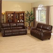 Leather Loveseats Abbyson Lorenzo Dark Burgundy Italian Leather Loveseat And Sofa