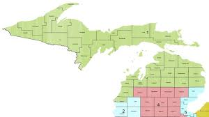 Mi Map Michigan Congressional District 1 113th United States Congress