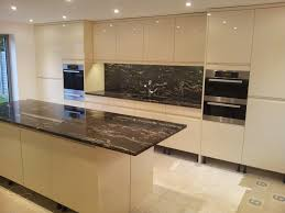 Black Granite Kitchen by Cosmic Black Granite Used For Kitchen Island And Bench Top With
