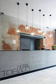 Concrete Reception Desk Reception Desks In Raw Industrial Style Norse White Design Blog
