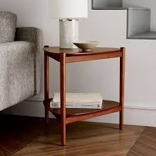 Kitchen Side Table Retro Tripod Side Table West Elm