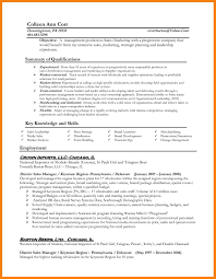 resume examples project management templates cover letter