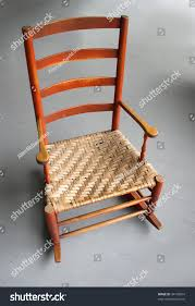 Rocking Chair Antique Styles Rocking Chair Antique Shaker Style Rocker Stock Photo 34738234