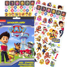 amazon paw patrol reward stickers 295 stickers toys u0026 games