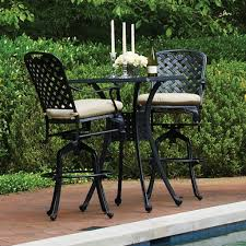 High Patio Table Bar Height Outdoor Furniture Ideas Gyleshomes Com