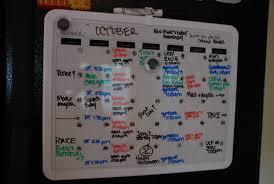 cool board dooley boards black framed magnetic calendar dry
