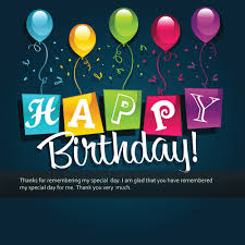 thank you for greeting me on my birthday quotes birthday wishes
