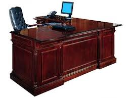 L Shaped Office Desk Furniture Traditional Office Desk Executive L Shaped Rtn Kes 058 Desks