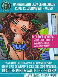 copic markers colouring books u0026 hannah lynn marker geek