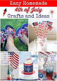 4th Of July Decoration Ideas Easy Homemade 4th Of July Crafts And Ideas Jpg