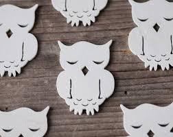 wooden owl etsy