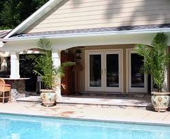 swimming pool house plans ideas pool house plans fireplaces pits 3d landscape