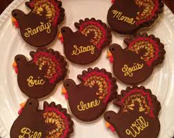 thanksgiving cookies etsy