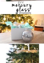 beautiful ly mercury glass tree ornaments two crafting with