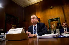 consumer bureau protection agency mick mulvaney consumer bureau s chief urges congress to cripple