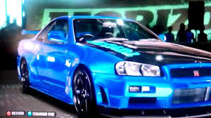 forza horizon nissan skyline gtr r34 paint job youtube