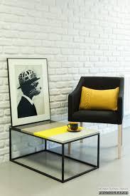 furniture minimalist coffee table ideas black brown yellow white