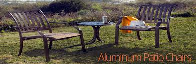 lightweight aluminum patio chairs are easy to stack carry and