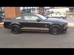 Black 2007 Mustang 2007 Ford Mustang On 17