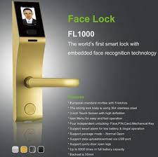 alibaba face recognition 3 inch touch screen biometric facial recognition access door lock