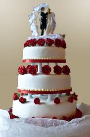 anniversary cake wedding cake