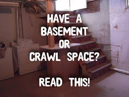radon u0026 mildew u0026 mold oh my basement u0026 crawl space owners please