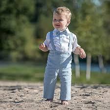 boys light blue tie baby boy light blue boy suspenders suit ring bearer