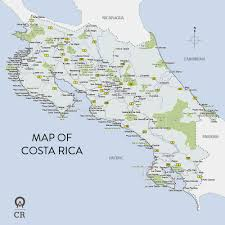 Map Of San Jose Costa Rica by Map Of Costa Rica Maps Site W Great Activities To Do While In