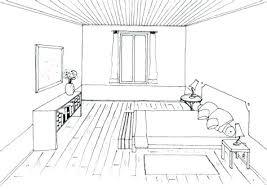 dessiner une cuisine en perspective chambre en perspective dessin d en perspective 1 premier apprendre