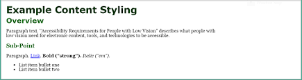 What Is Legally Blind Accessibility Requirements For People With Low Vision