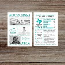 year in review christmas card 2016 year in review christmas card with photos family