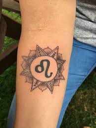 zodiac sign leo tattoo zodiac sign tattoos leo pinterest
