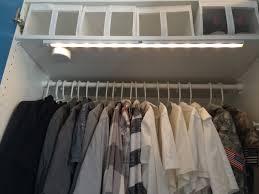 Closet Light Turns On When Door Opens Stötta Led Light Battery Operated White Pax Wardrobe