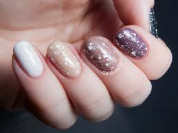and mauve ombre with lacy glitter chalkboard nails nail