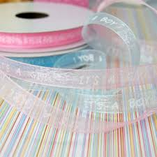 baby shower ribbon baby shower ribbons add personalized favor ribbon and gift bows