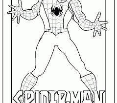 free spiderman coloring pages 58 additional coloring