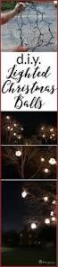 Make Your Own Outdoor Lighted Christmas Decorations by Best 25 Christmas Balls Ideas On Pinterest Xmas Decorations