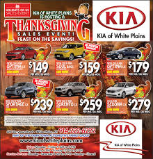 thanksgiving sales event kia of white plains