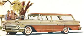 long roof love 1958 chevrolet station wagon brochure hemmings daily