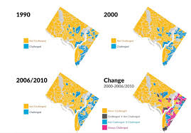 Dc Ward Map D C U0027s Poorer Residents Are Increasingly Concentrated East Of The