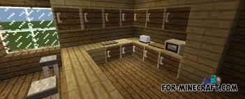 minecraft kitchen furniture astounding furniture mod v6 for minecraft pe 0 11 13 on kitchen