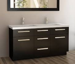 carolina 60 white double sink vanity by lanza sink design element moscony double sink vanity set with espresso