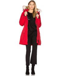 canada goose montebello parka white womens p 85 shop s canada goose coats from 385 lyst