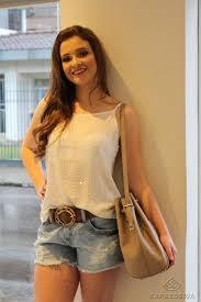 Famosos Expressiva Modas - Dica: Como usar Shorts JeansExpressiva Modas  @AT94