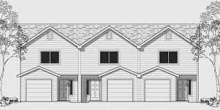 multi family house plans triplex multi family house plans fourplex nikura