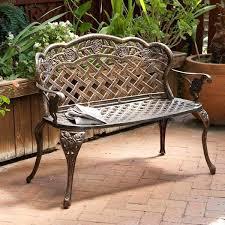 Wrought Iron Patio Furniture Vintage Antique Iron Garden Bench U2013 Exhort Me