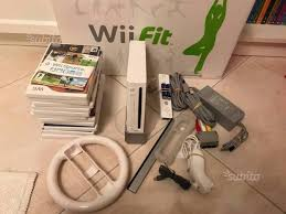 pedana wii consolle wii pedana wii fit console e videogiochi in vendita a