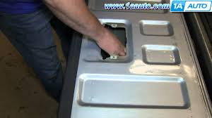 nissan frontier drop in bedliner how to install replace tailgate handle and trim panel 2001 04