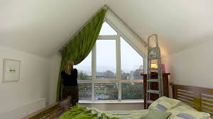 oldcourtcurtains triangle window youtube